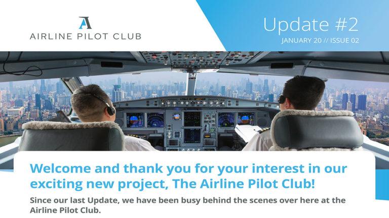 La dernière update du projet The Airline Pilot Club