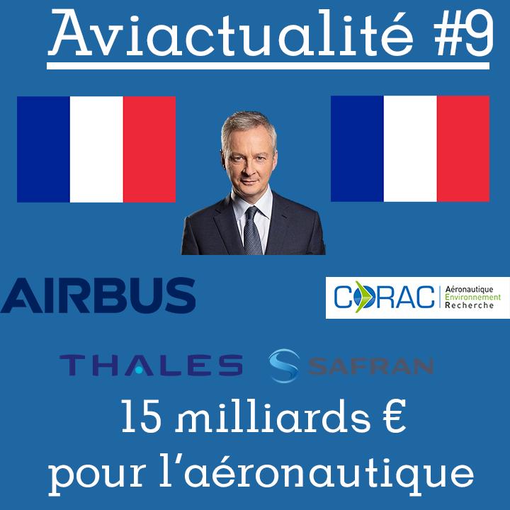 Le plan de soutien pour l'industrie aéronautique française